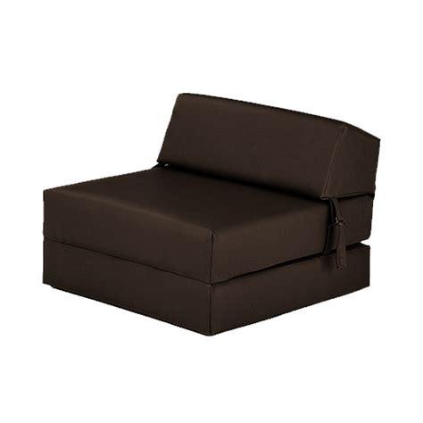 canapé faux cuir simple fauteuil lit z faux cuir invité replié futon divan