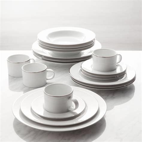 maison platinum rim  piece dinnerware set reviews