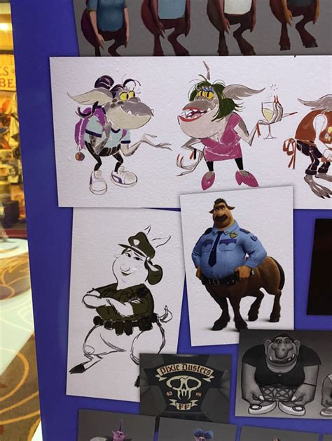 mousesteps disney  pixars onward concept art