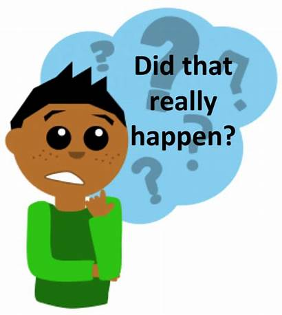 Memory False Clipart Thinking Memories Bad Critically