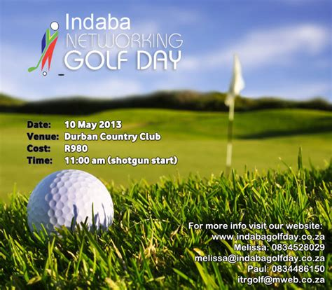 umhlanga life indaba networking golf day news