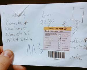 POST HACK or How To Send A Letter For Free – Aram Bartholl