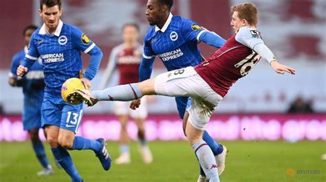 Brighton snap winless streak with 2-1 triumph at Villa - CNA