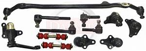 Rwd Toyota Pickup 2 4l 3 0l Center Link Inner Outer Tie Rod Ends Ball Joints New
