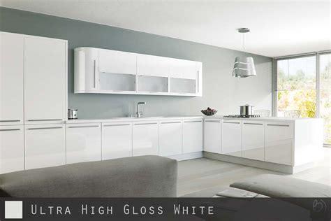 Ultra High Gloss White Kitchen Doors Cabinetsanddoorscouk