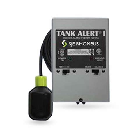 sje rhombus sje rhombus tank alert i alarm system 120v high level mechanical switch sje1007457