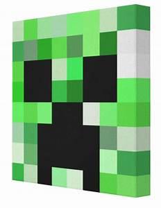 Minecraft Creeper Canvas | Minecraft Creeper | Creeper ...