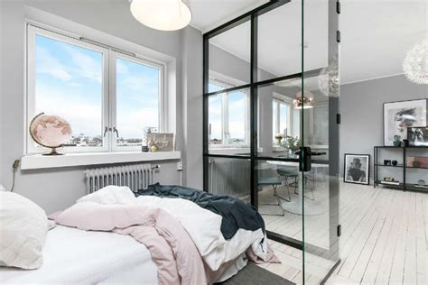 Small Scandinavian Apartment Open Airy Design by Small Scandinavian Apartment With Open And Airy Design