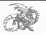Dragon Coloring Pages Razor Whip Razorwhip Dragons Drawings Template sketch template