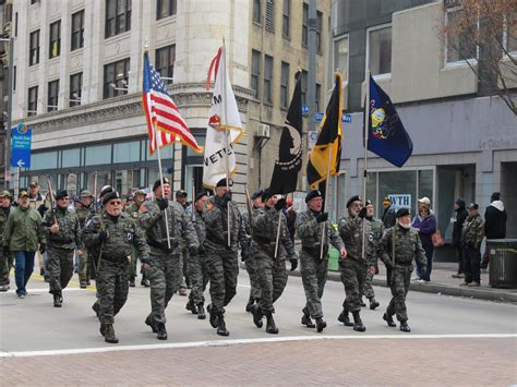Cold Hands And Warm Hearts At Pittsburgh's Veterans Day
