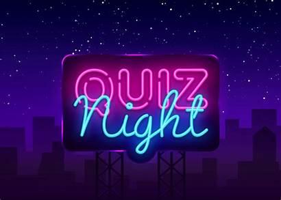 Question Pop Quiz Night Neon Sign Ux