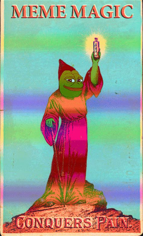 Psychedelic Meme - a brief introduction to meme magic