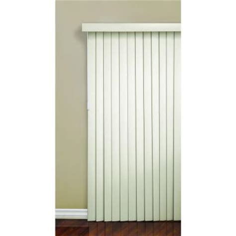 Home Depot Ceiling L Shades by Alabaster 3 5 In Pvc Vertical Blind 78 In W X 84 In L