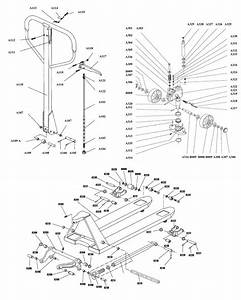 29 Multiton Pallet Jack Parts Diagram