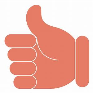 Thumbs up ok hand - Transparent PNG & SVG vector