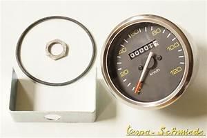 Bitte Schicken Sie Mir Die Rechnung : vespa tacho mit chrom ring 85mm 120 km h px lusso tachometer halter ~ Themetempest.com Abrechnung