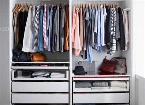 Colorful Closet by Organized Closet Organizing Tips 10 Ways Color Can