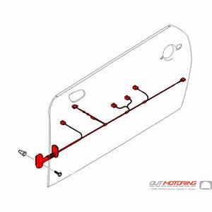 61126975046 Mini Cooper Replacement Cable Harness  Door