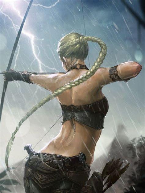 images  fantasy archers  pinterest