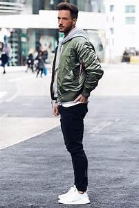 Best 25+ Bomber jacket men ideas on Pinterest   Bomber jacket men outfit Military bomber jacket ...