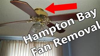 phenomenal remove ceiling fan how to remove hton bay