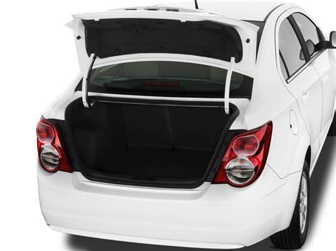 image  chevrolet sonic  door sedan lt trunk size