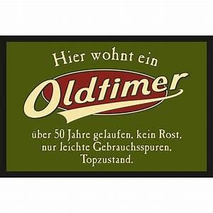 Fußmatte Mit Spruch : t rmatte fu matte mit motiv spruch oldtimer 12 90 ~ Watch28wear.com Haus und Dekorationen