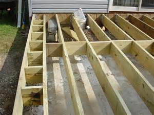 framing thoughts ideas for bread board edge using mm decking decks fencing contractor talk