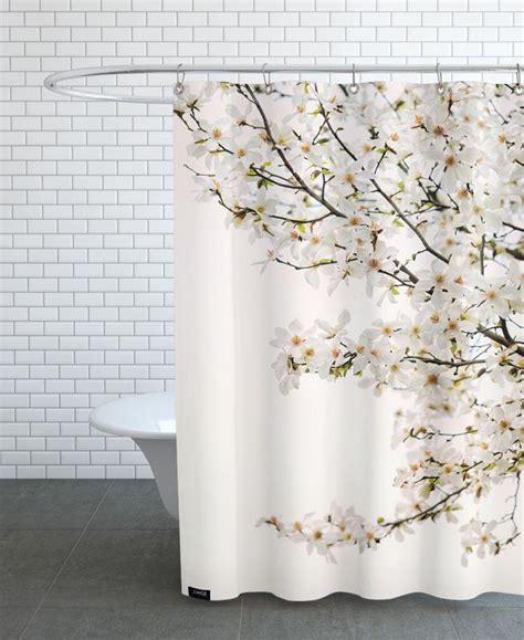 magnolia shower curtain magnolia white as shower curtain juniqe