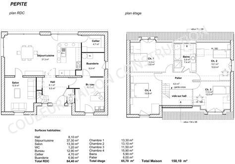 couleur maison construction le plan de maison de notre modele p 233 pite