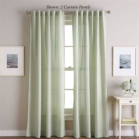 ayla semi sheer curtain panels