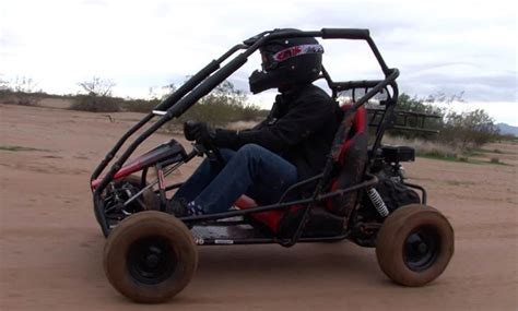Gas-powered Coleman Powersports Off-road Go Kart