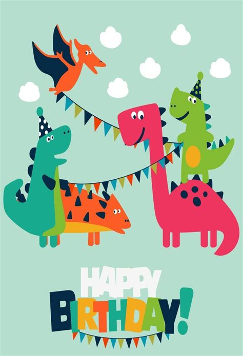 dinosaur party childrens birthday party backdrop custom