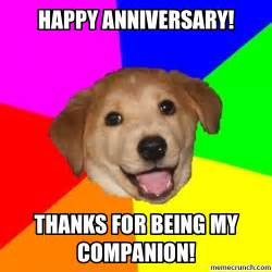 Happy Anniversary Memes - happy anniversary