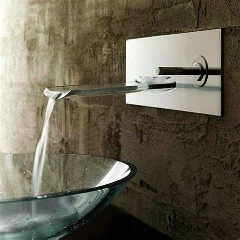 aa195 single handle waterfall wall mount bathroom sink