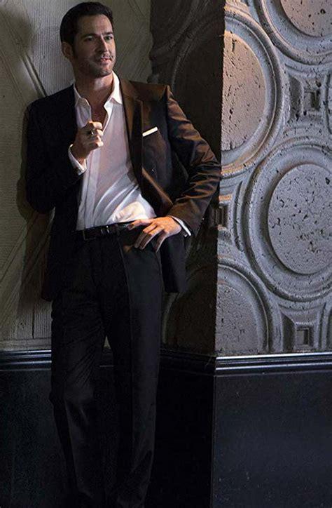 Morningstar Lucifer Tom Ellis Suit Movies Jacket