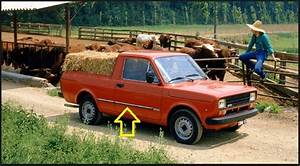 Kit Friso Lateral Fiat 147 Pick Up City Fiorino 1  2 Ton