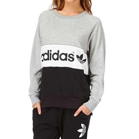 sweater by link link shop 39 s adidas originals city sweatshirt medium grey