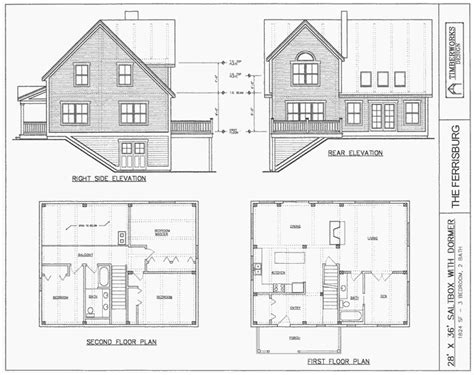saltbox floor plans post beam house plans and timber frame drawing packages