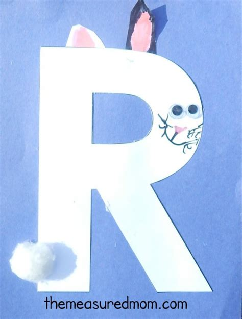 letter r crafts the measured 933 | Letter R craft 6 590x779