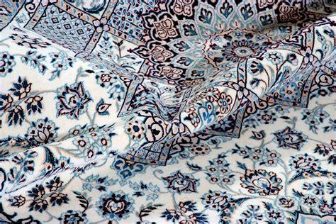 tappeti persiani nain nain 6 fili persiano cm 183x118 tea tappeti