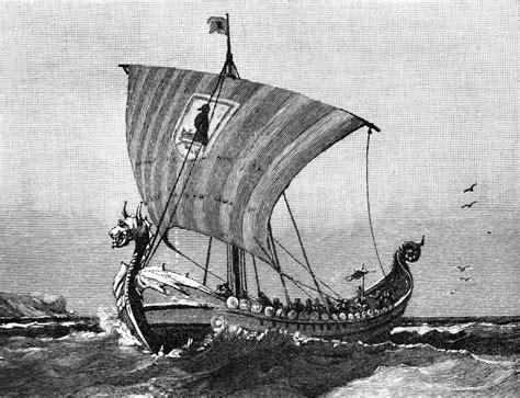 Viking Boat Drawing by Wk 8 Design 3d Production