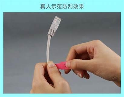 Adhesive Self Custom Cable Label Printing Labels