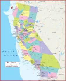 California State Political Map