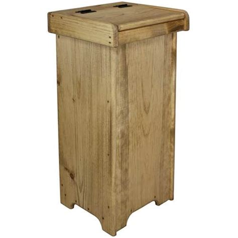 wooden trash cans for kitchen wooden kitchen trash can with lid wooden trash bin
