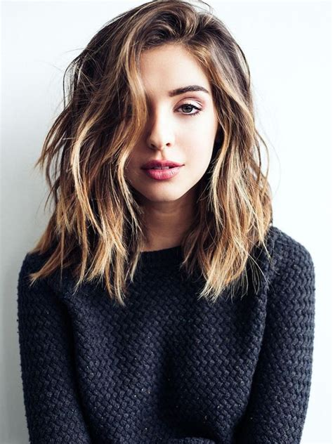 Hairstyles For Mid Length by 22 Best Medium Hairstyles For 2019 Shoulder Length