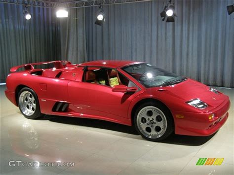 red lamborghini diablo vt roadster momo limited