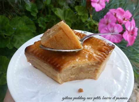 gateau pudding aux petit beurre et pommes recette de gateau pudding aux petit beurre et pommes