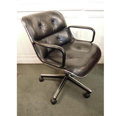 fauteuil bureau knoll vendu fauteuil de charles pollock modèle 12e1 édité par