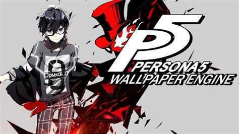 Persona 5 Animated Wallpaper - persona 5 wallpaper engine demo